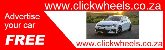 click wheels logo advertise your car for sale free online in south africa